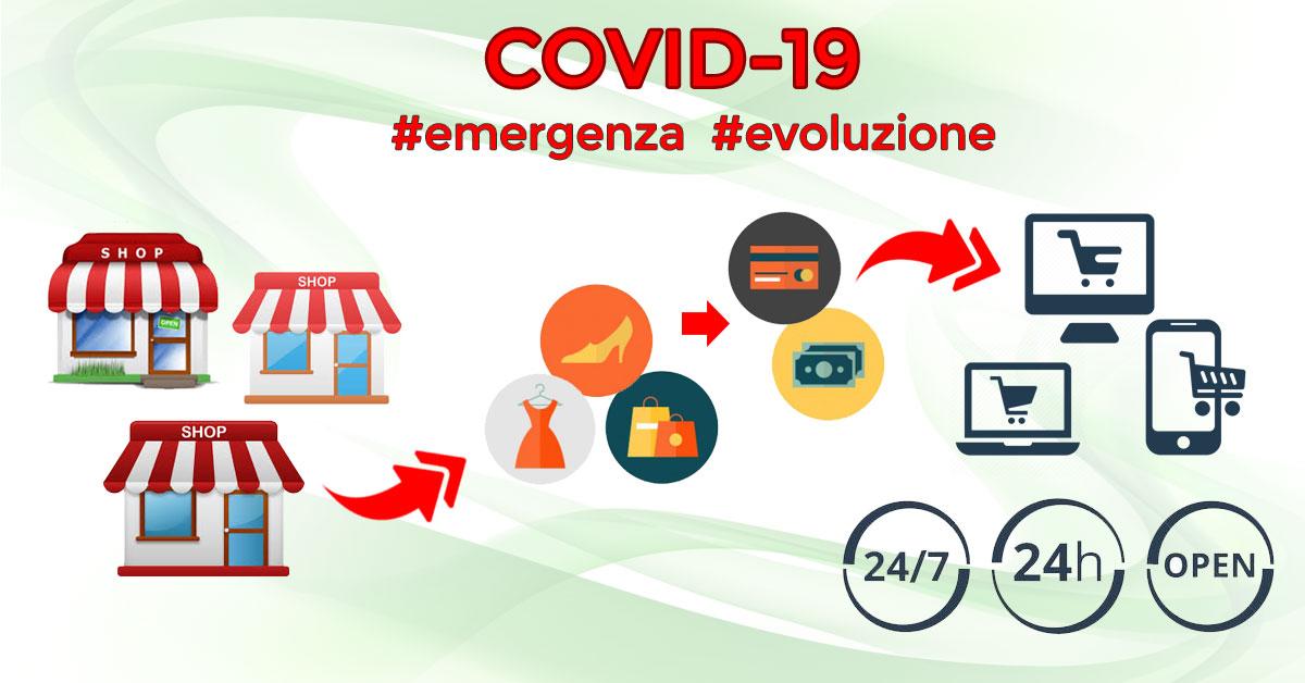 Aiuto Concreto #Emergenza Covid-19 #Evoluzione Ecommerce